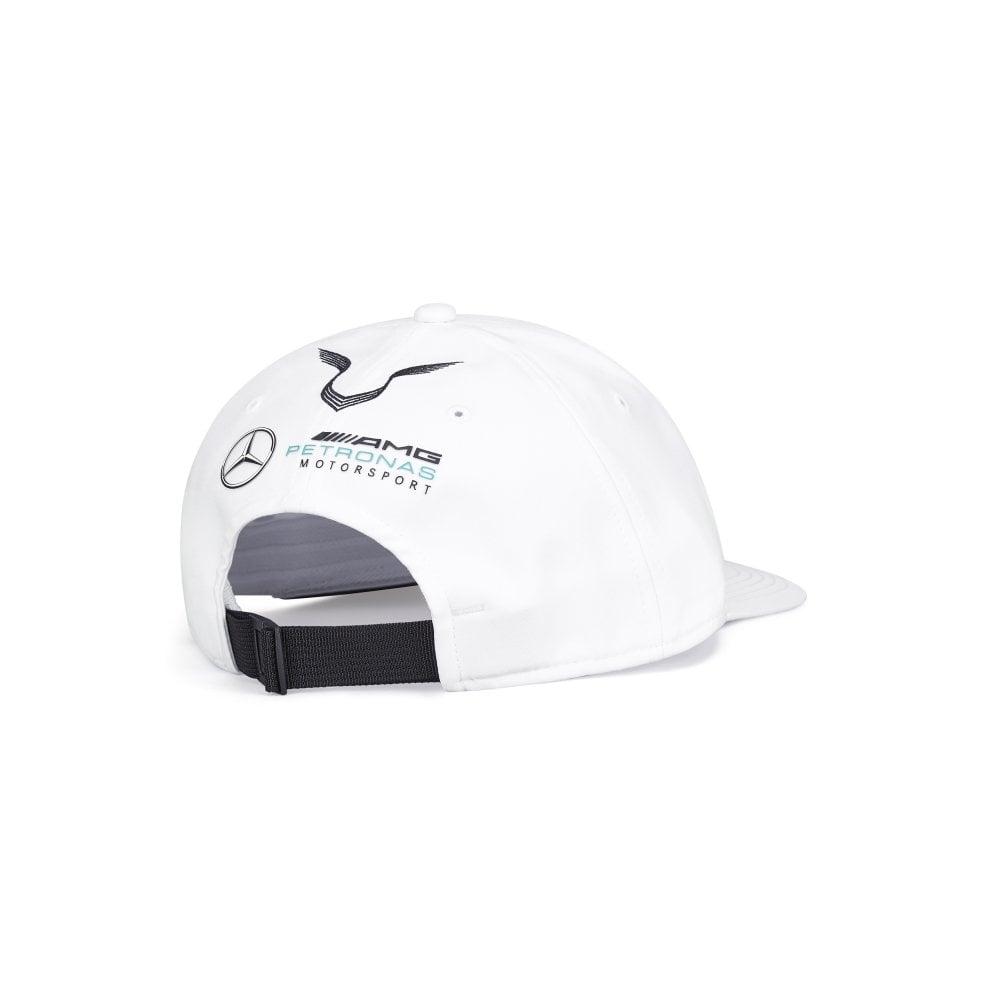 Mercedes-AMG Petronas Motorsport 2019 F1 Lewis Hamilton Flat Brim Cap White
