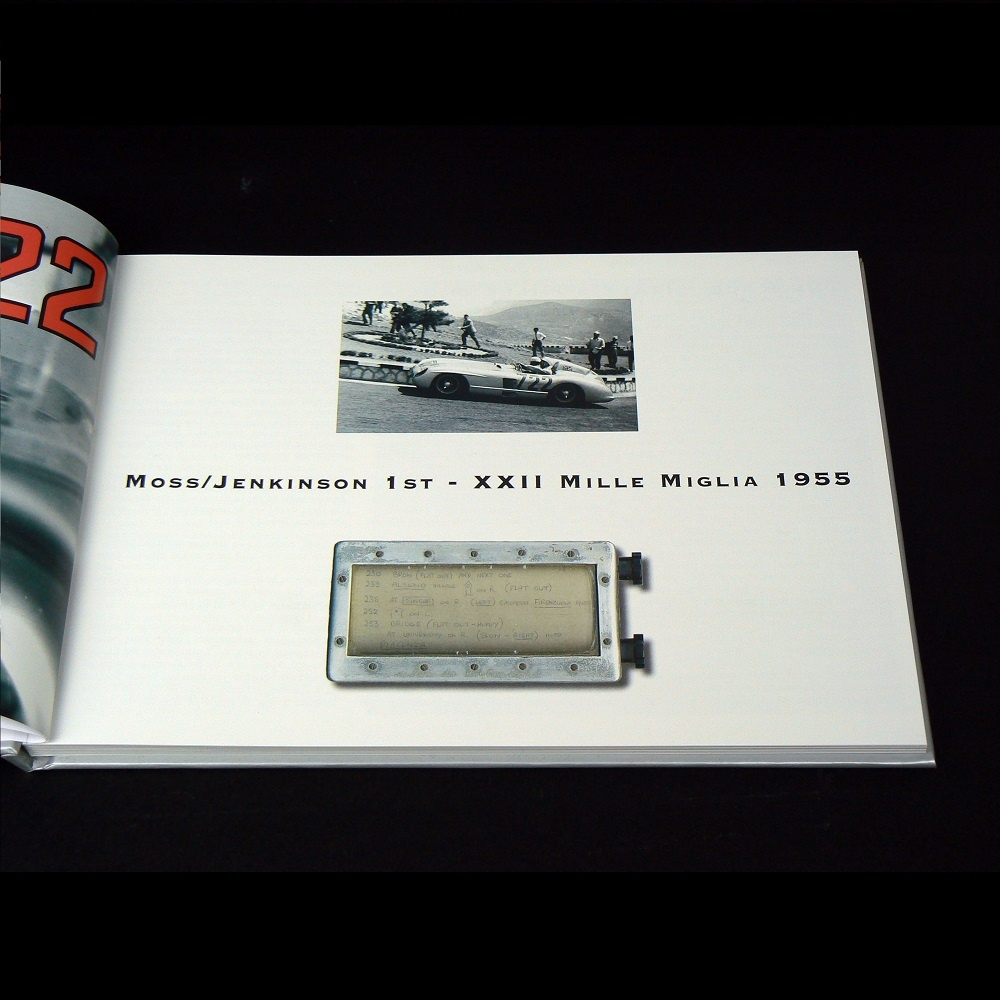 Mercedes benz 722 book box signed by sir stirling moss for Books mercedes benz