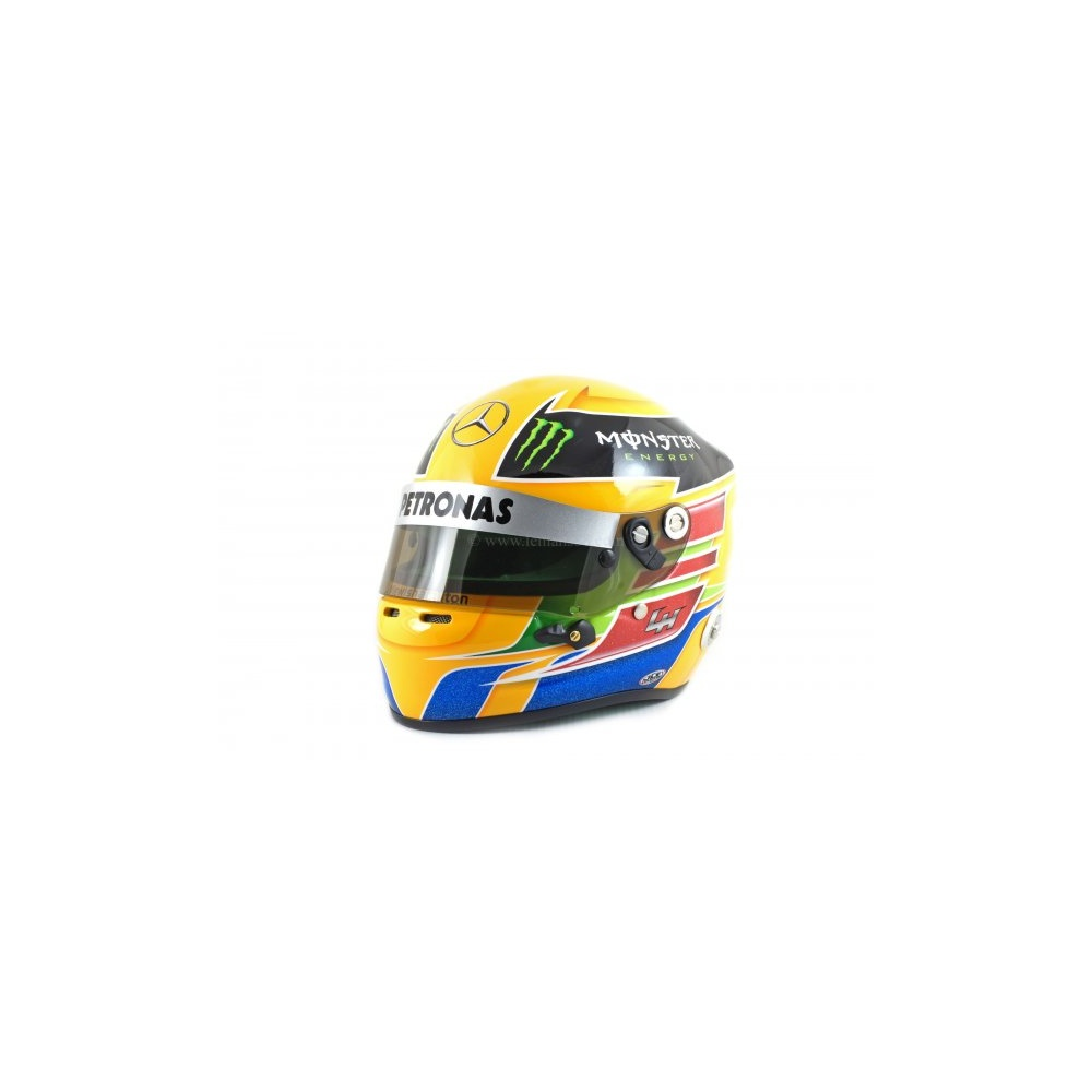 Lewis hamilton 2013 helmet the f1 shop and more f1 merchandise for Mercedes benz f1 shop