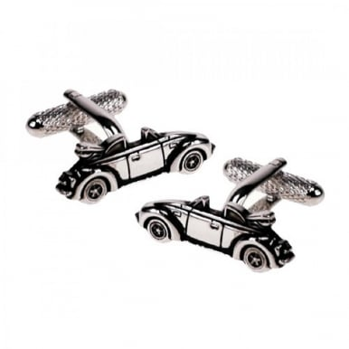 Convertible VW Beetle Cufflinks