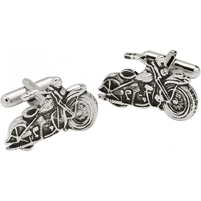 Onyx-Art Motor Bike Cufflinks CK37