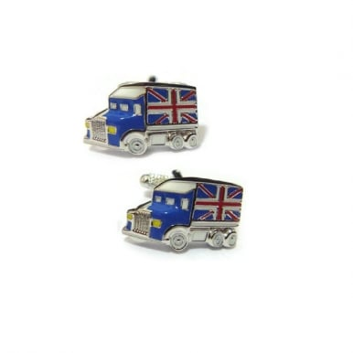 Union Flag Truck Cufflinks