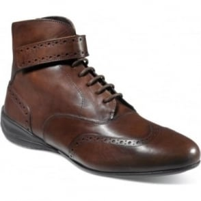Piloti Campione Brown Leather Driving Boot