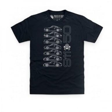 Porsche 911 T-Shirt Black