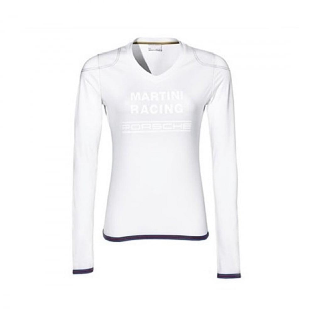 Martini racing ladies long sleeve t shirt white for Long sleeve t shirts design