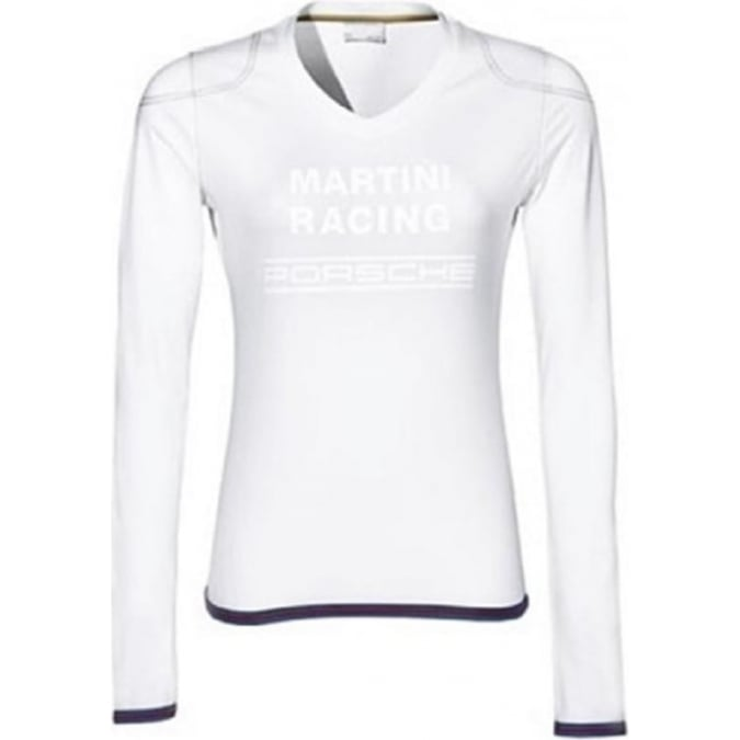 Porsche Design Ladies Long sleeve T-shirt White