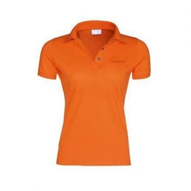 Ladies Polo Shirt with Porsche Logo