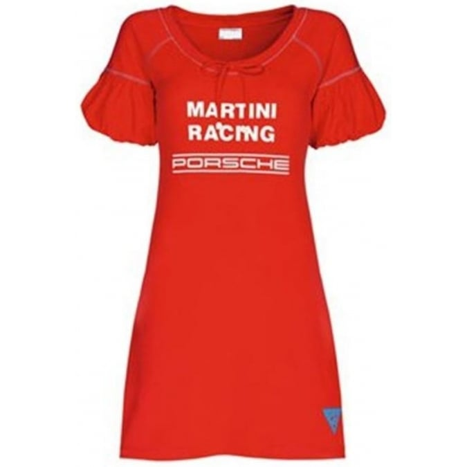 Porsche Design Martini Racing Ladies Beach Dress Red