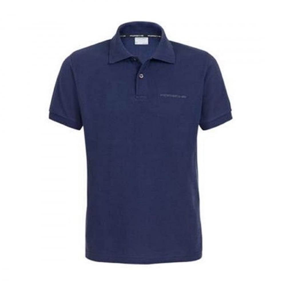 Mens polo shirt with porsche logo for Polo shirt logo design