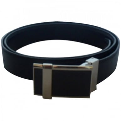 Black Belt With Carbon Fibre Buckle