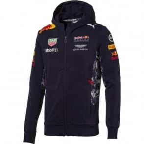 Red Bull Racing F1 Hooded Sweat Jacket 2017
