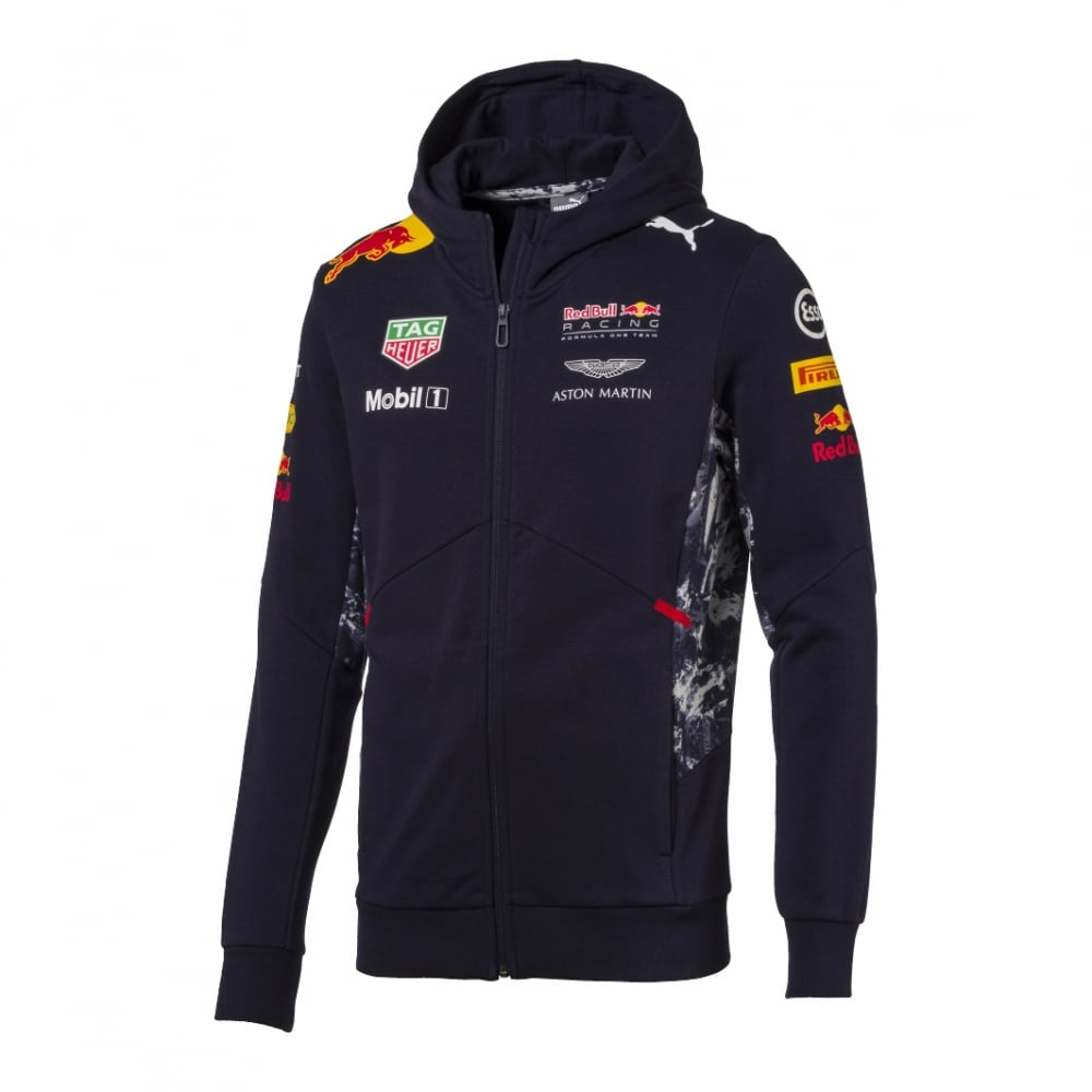 official red bull racing hooded sweatjacket 2017. Black Bedroom Furniture Sets. Home Design Ideas
