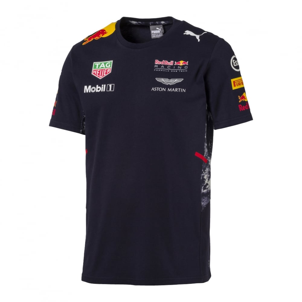 official red bull racing team t shirt 2017. Black Bedroom Furniture Sets. Home Design Ideas