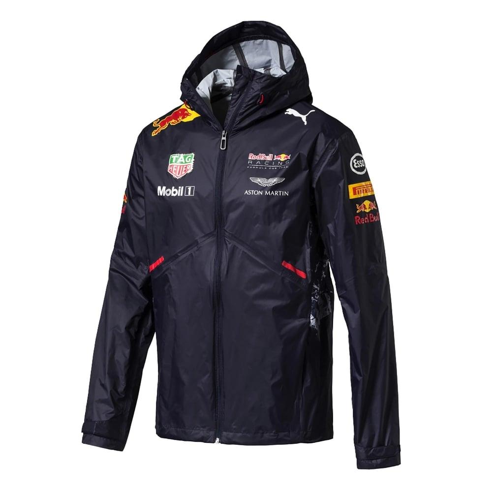 Official Red Bull Racing Team Rain Jacket 2017
