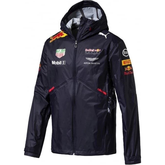 Red Bull Racing Team F1 Rain Jacket 2017