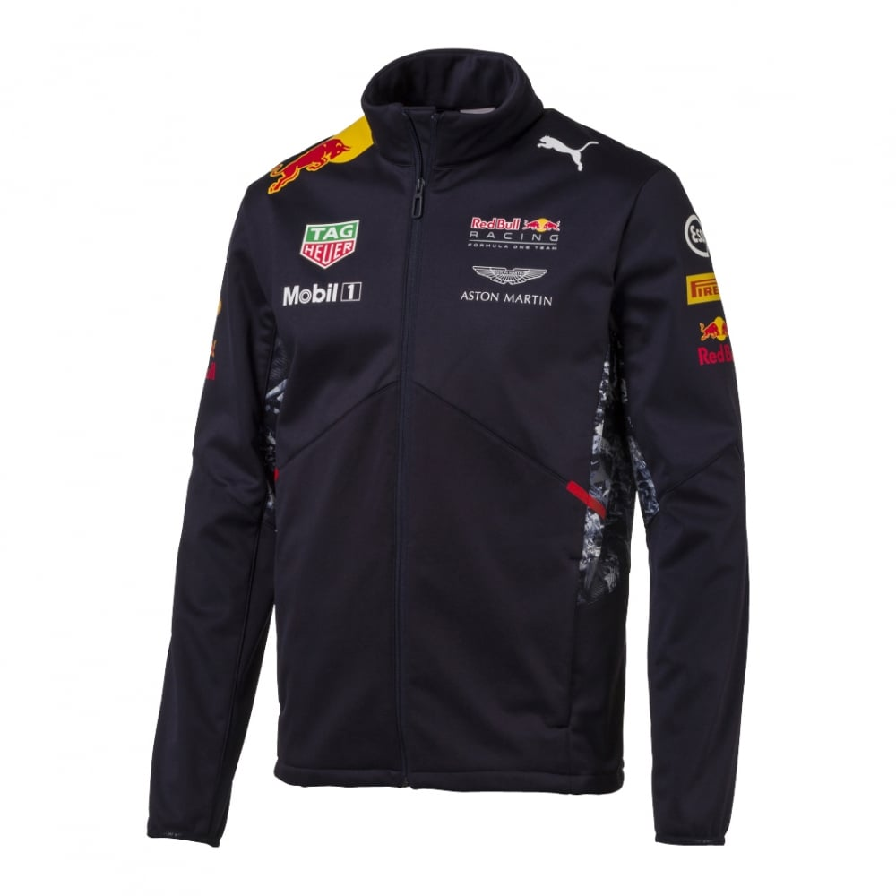 official red bull racing team softshell 2017. Black Bedroom Furniture Sets. Home Design Ideas