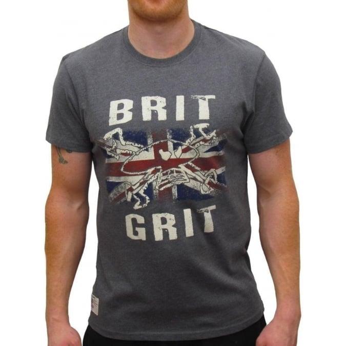 Red Torpedo Clothing Primo Brit Grit Graphite T-shirt
