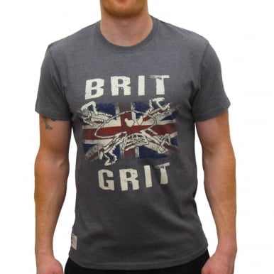 Primo Brit Grit Graphite T-shirt