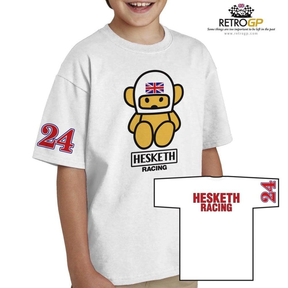 Kids Hesketh T Shirt For James Hunt Fans