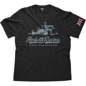 OFFICIAL Hesketh 308 Vintage T Shirt Aged Black