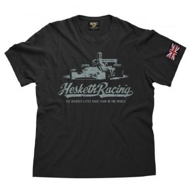 OFFICIAL Hesketh 308 Vintage T Shirt Aged Black