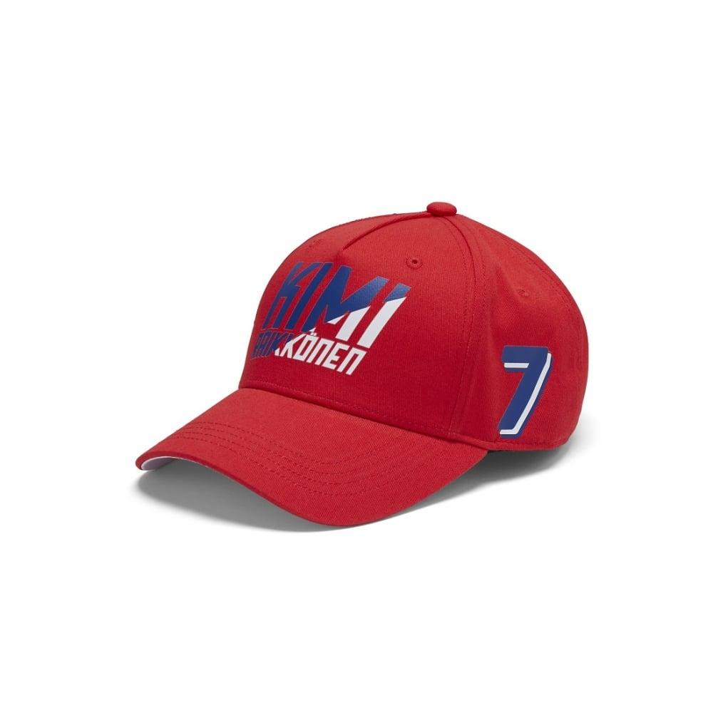 Official Scuderia Ferrari Fanwear Kimi Raikkonen Baseball Cap 8bc7fe708007