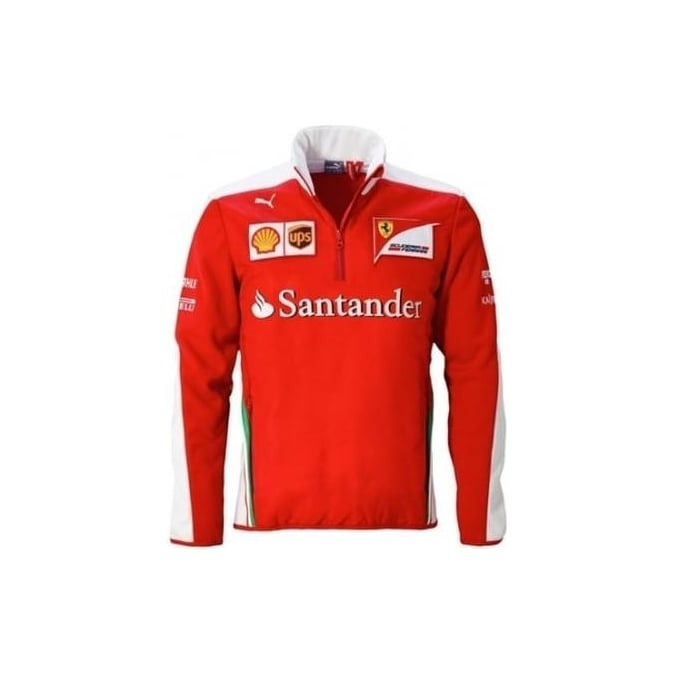 Scuderia Ferrari Half Zip Fleece 2016