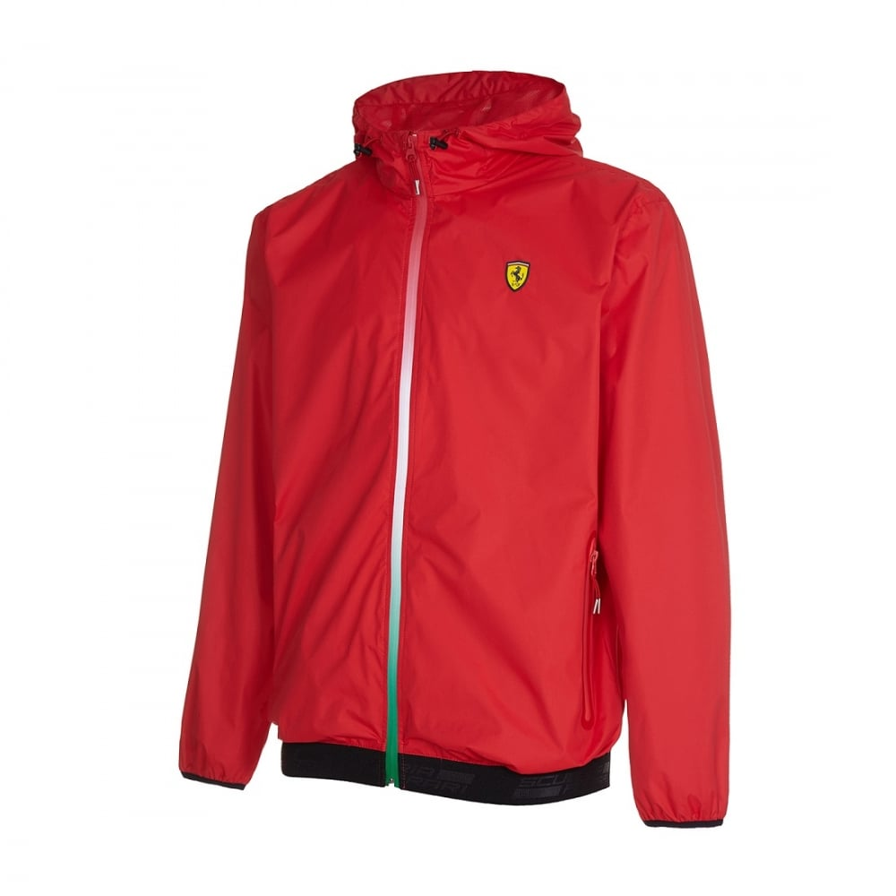 scuderia puma track red lyst men ferrari product normal clothing gallery jacket for in