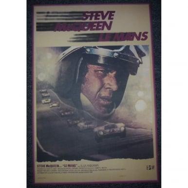 Steve McQueen French Film Poster