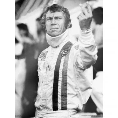 Steve McQueen Salutes Le Mans Poster