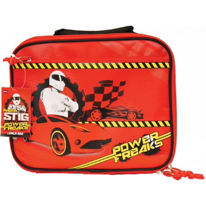 Top Gear Stig Power Freaks Lunch Bag Box Official BBC Merchandise