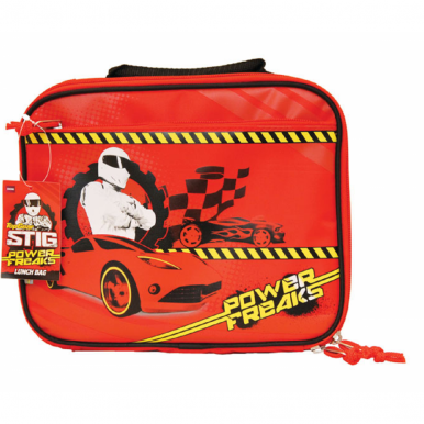 Stig Power Freaks Lunch Bag Box Official BBC Top Gear Merchandise