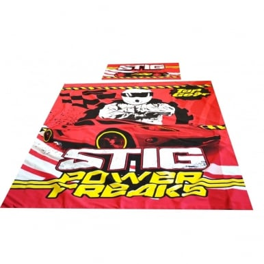 Stig Power Freaks Single Duvet Set Official Top Gear Merchandise