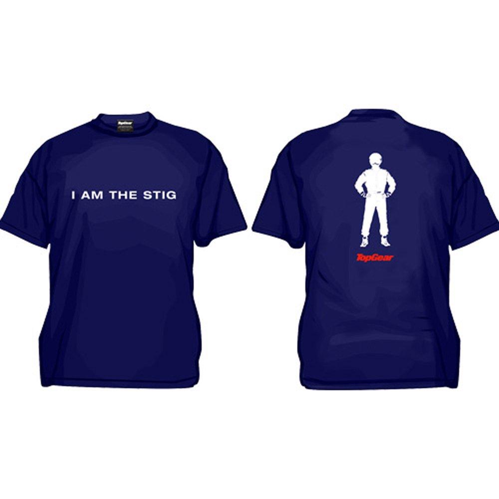 Top Gear Stig Navy Blue T-Shirt Kids BBCTV Official Product