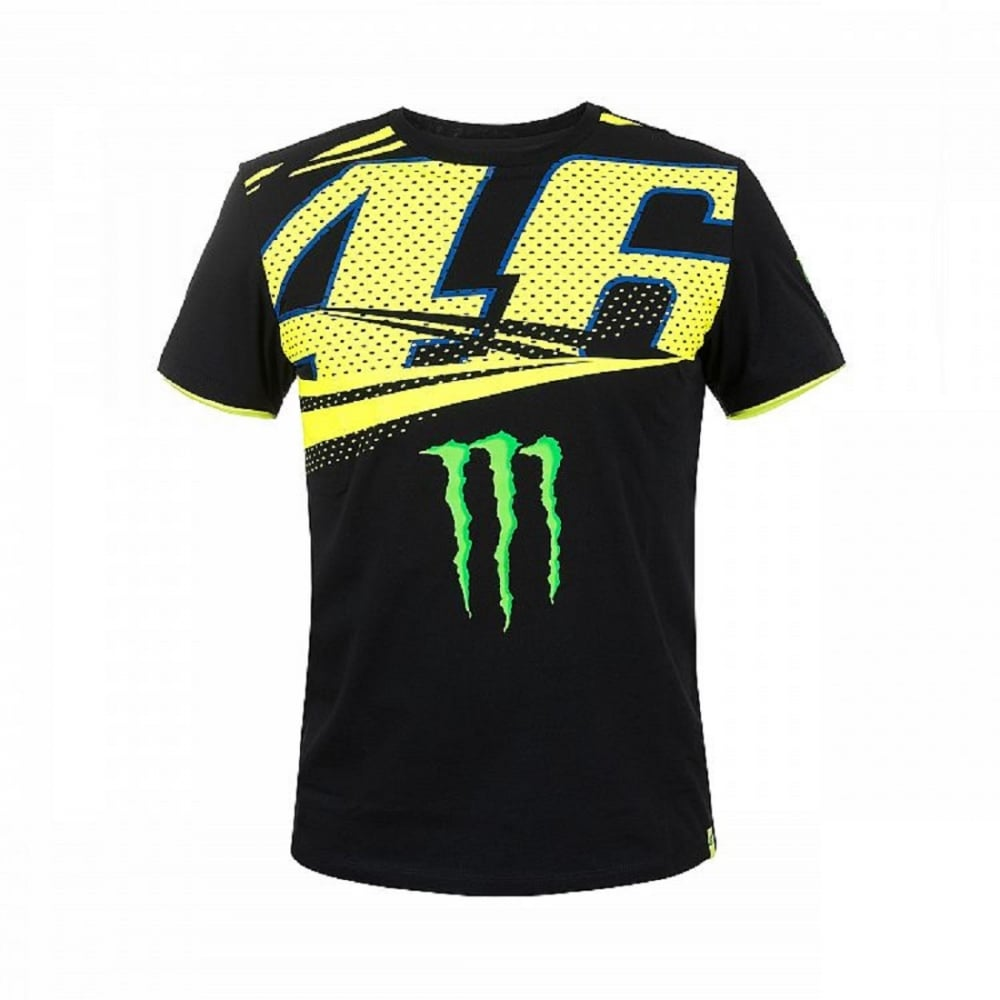 valentino rossi vr46 monster t shirt 2018. Black Bedroom Furniture Sets. Home Design Ideas