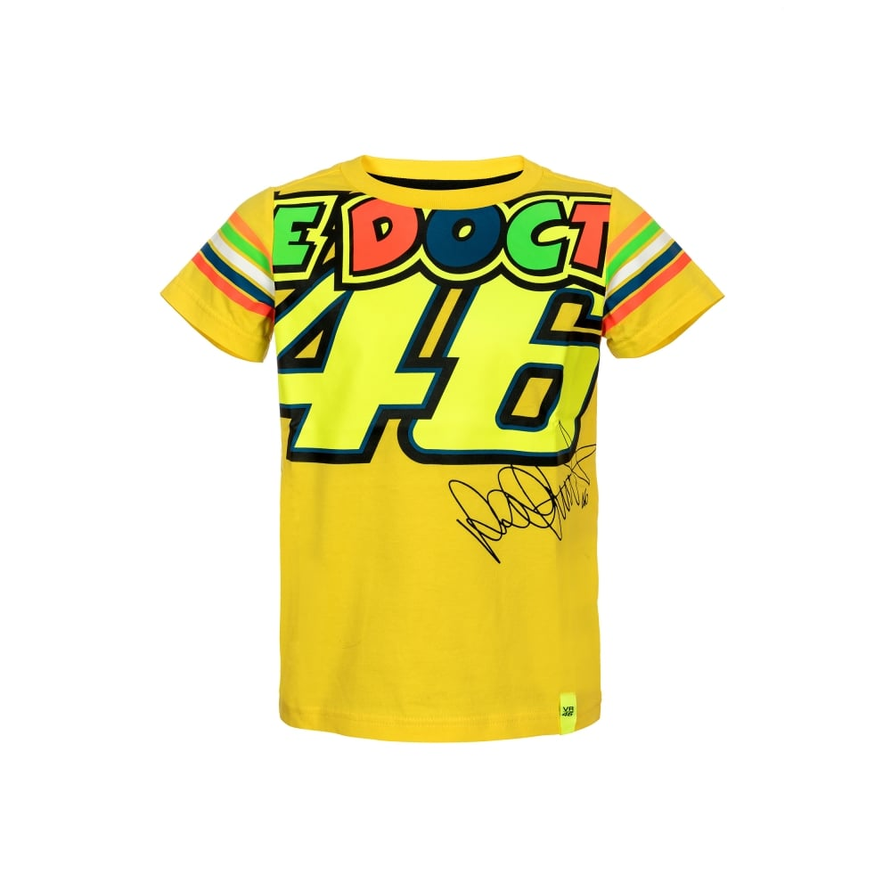 Valentino Rossi VR46 Kids The Doctor T-Shirt 5b1675d1d1d0