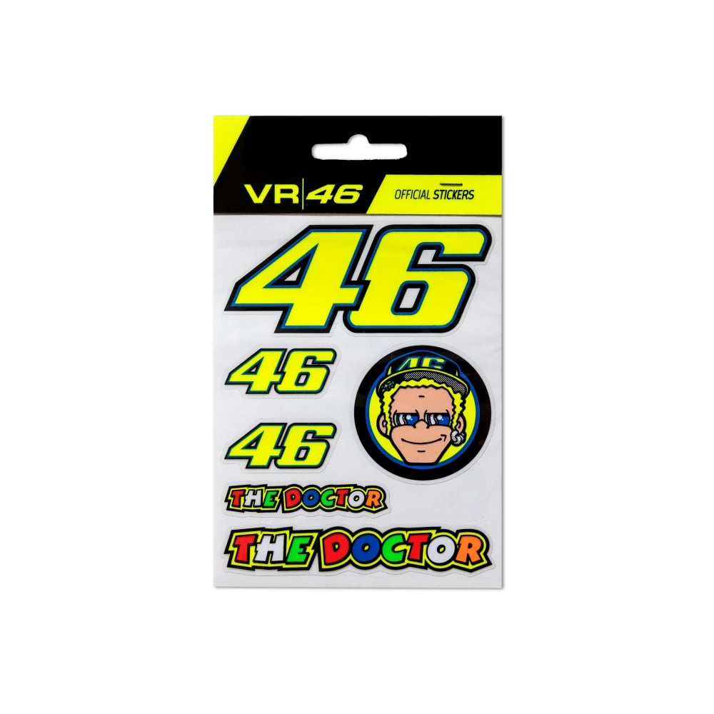 Helmet Sticker Work Vr46