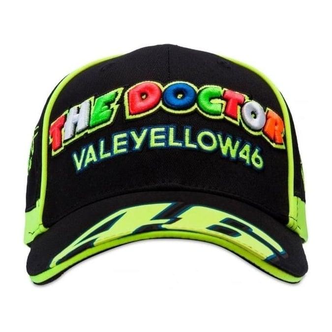 Valentino Rossi VR46 Vale Yellow 46  Cap 2017