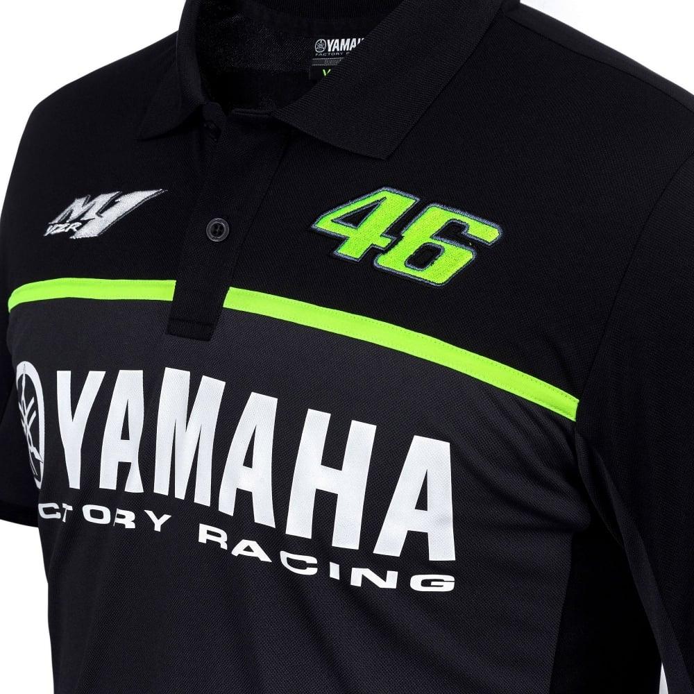 Valentino Rossi Vr 46 Yamaha Black Edition Polo 2017