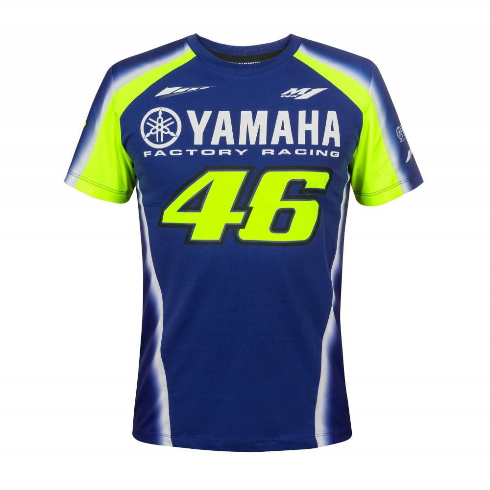 yamaha vr46 t shirt. Black Bedroom Furniture Sets. Home Design Ideas