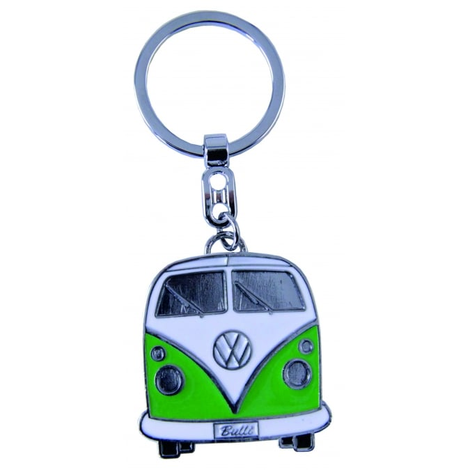 VW Collection by Brisa VW T1 BUS KEY RING IN GIFT TIN GREEN