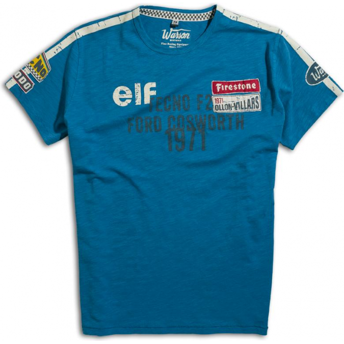 Warson Motors Cevert Blue T-shirt