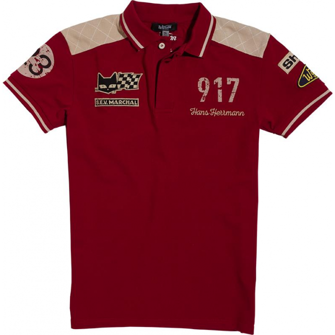 Warson Motors Men's Polo Herrmann Red