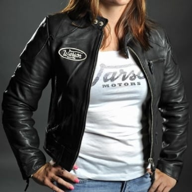 Motorcycle Black Leather Jacket