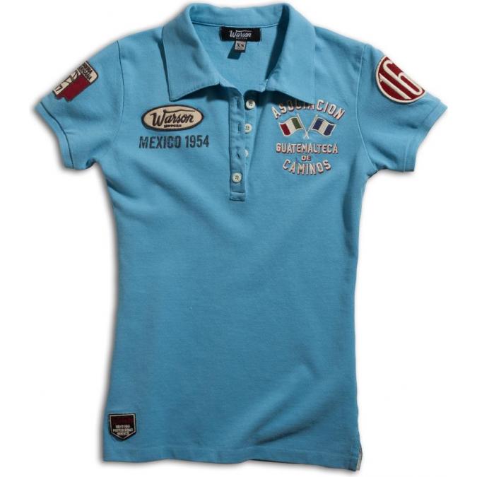 Warson Motors Polo Caminos Blue Ladies