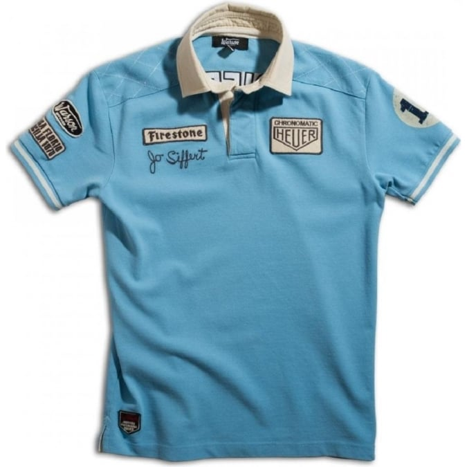Warson Motors Polo Siffert Blue Mens