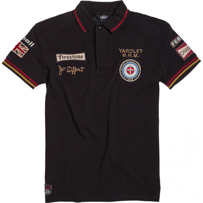 Warson Motors Polo Siffert Yardley BRM Black for Men