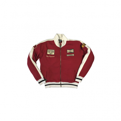 Regazzoni Track Jacket Red