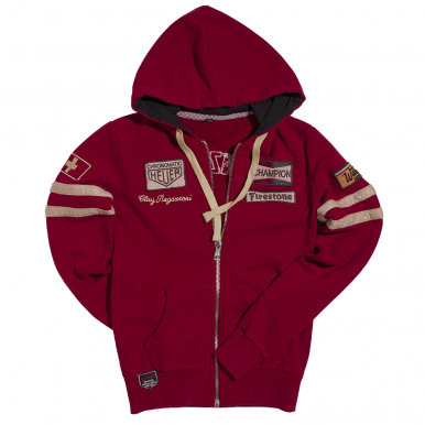Womens Regazzoni Hoodie Dark Red