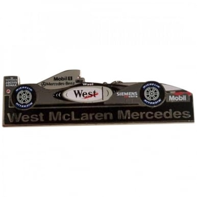 West McLaren Mercedes Car Pin